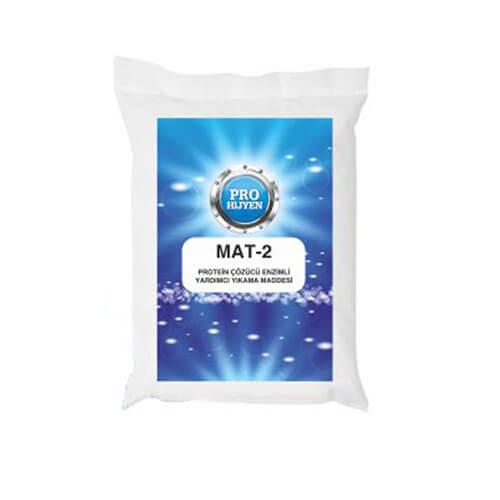ProHijyen Mat-2 Pişmiş ve Ağır Kirler İçin Enzimli Yardımcı Yıkama Maddesi