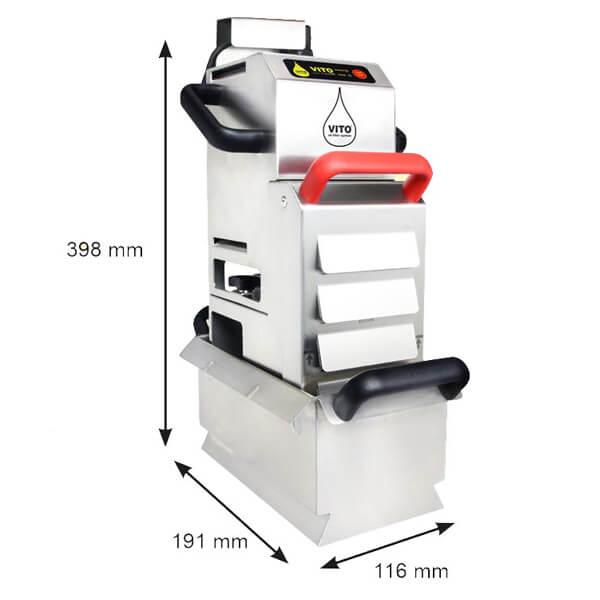 vito 50 yağ filtre makinesi