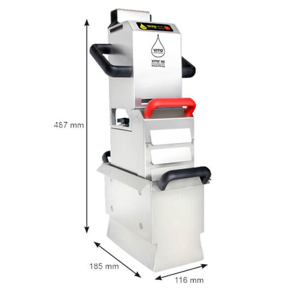 vito 80 yağ filtre makinesi