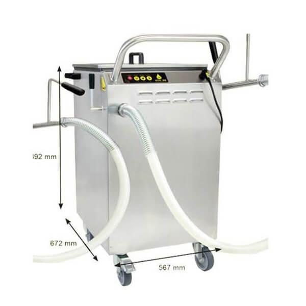 seyyar kızartma yağı filtre makinesi