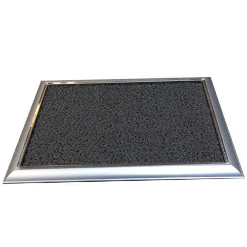 Hijyen Paspası Metal Çerçeveli, siyah