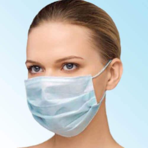 mavi cerrahi maske