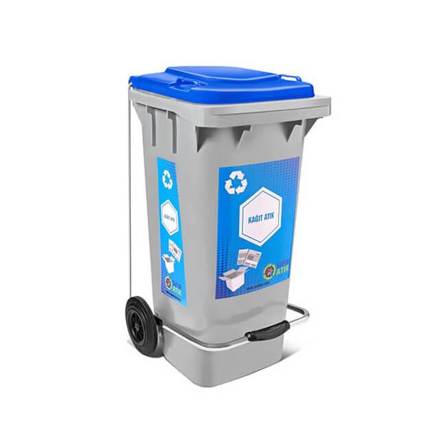 kağıt atık çöp kutusu