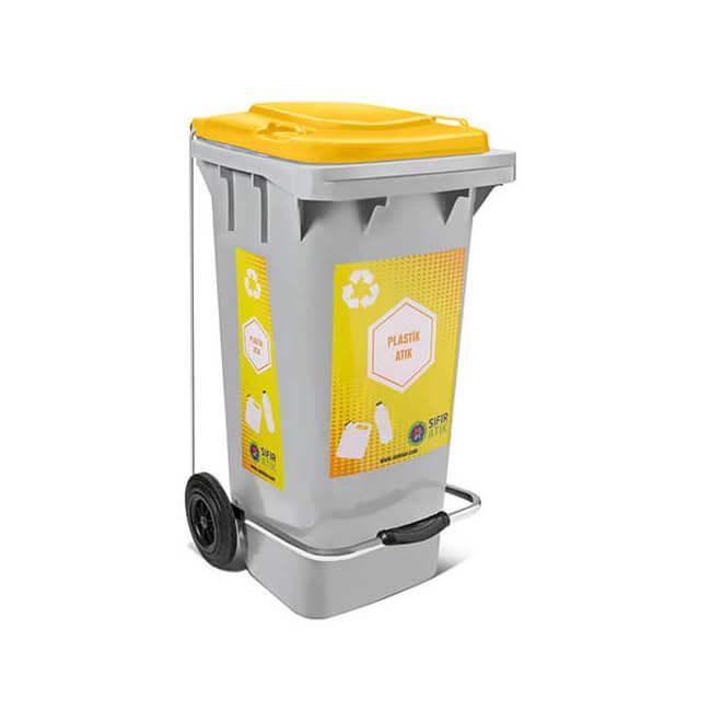 plastik atık çöp kutusu