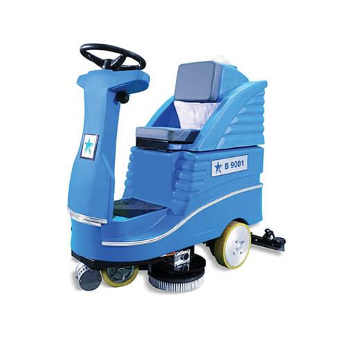 cleanvac binicili zemin temizleme makinesi b 9001