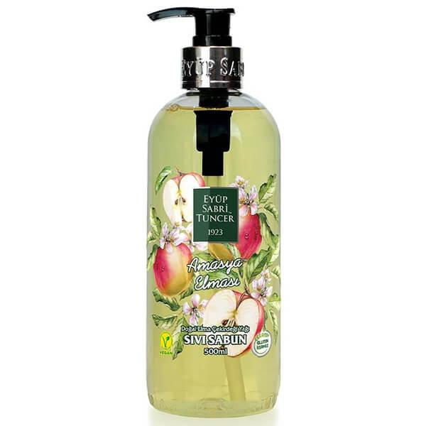 eyüp sabri tuncer vegan amasya elması sıvı sabun