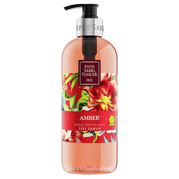 Eyüp Sabri Tuncer Amber Doğal Zeytinyağlı Sıvı Sabun 500 ml