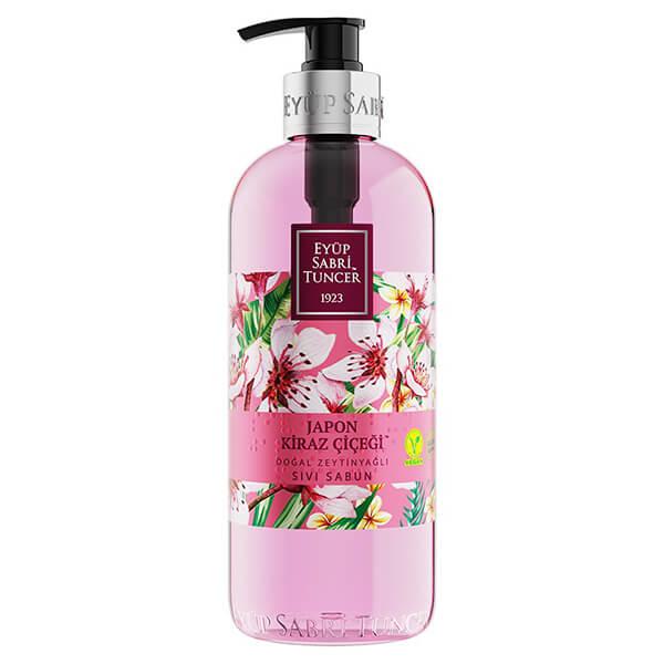 eyüp sabri tuncer sıvı sabun japon kiraz çiçeği