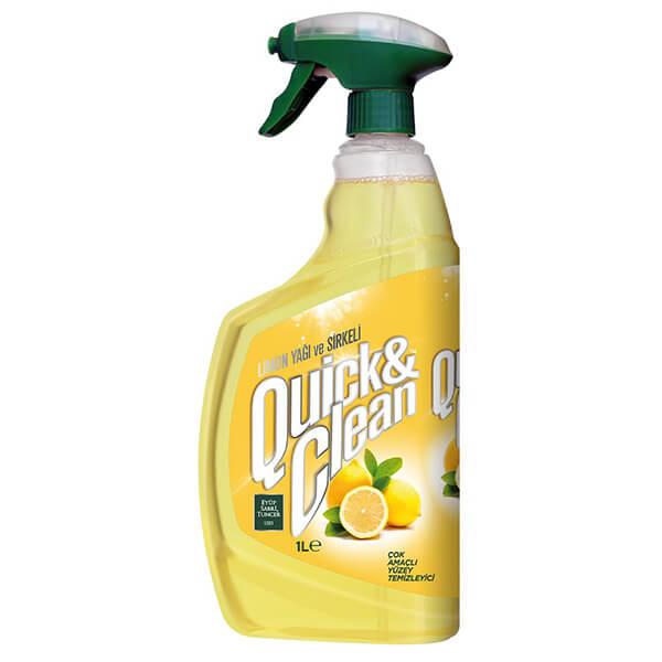 Eyüp Sabri Tuncer Quick & Clean Doğal Limon Yağlı Yüzey Temizleyici